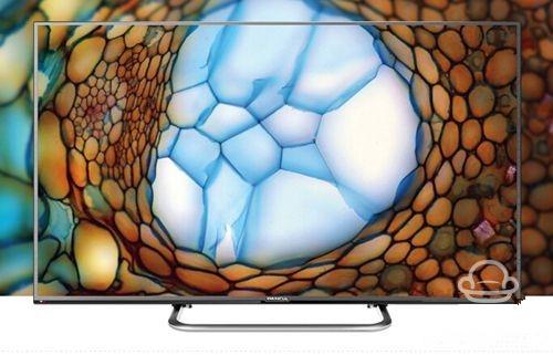 熊猫 le49h50s-ud这款电视采用超窄边框的