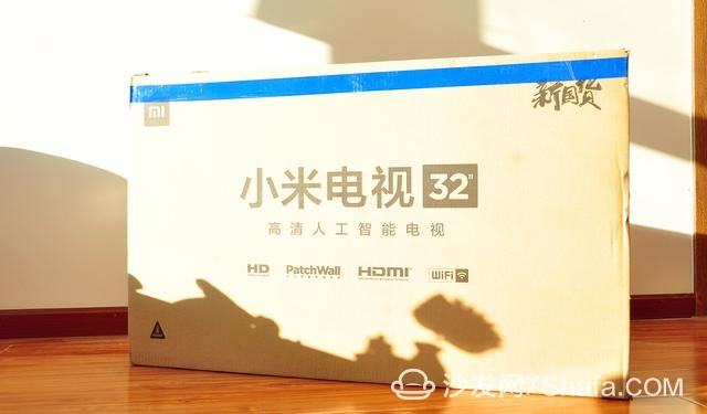 """包装设计也算是小米电视的""""老味道""""了,就不多说了."""