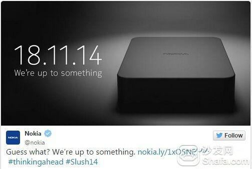 基于Android平台 诺基亚或推智能电视盒